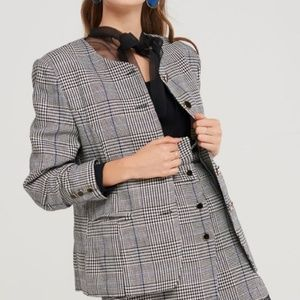 NWT - Storets  - Perry Plaid Boxy Jacket